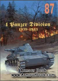 4 Panzer Divizion 1939-1943 Vol.1 [Wydawnictwo Militaria 087]
