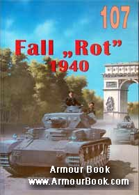 "Fall ""Rot"" 1940 [Wydawnictwo Militaria 107]"