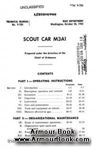 M3A1 Scout Car [Technical manual 9-705]