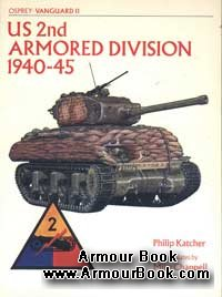 US 2nd Armored Division 1940-1945 [Osprey Vanguard 11]