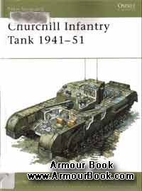 Churchill Infantry Tank 1941-1951 [Osprey New Vanguard 4]