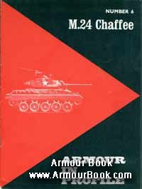 M24 Chaffee [Armour in Profile AFV-Weapons 6]