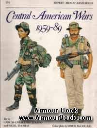 Central American Wars 1959-89 [Osprey Men-at-Arms 221]