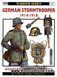 German Stormtrooper 1914-18 [Osprey Warrior 012]
