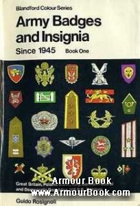 Army Badges and Insignia Since 1945. Book One [Blandford Pres]