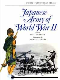 Japanese Army of World War II [Osprey Men-at-Arms 20]