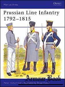Prussian Line Infantry 1792–1815 [Osprey Men-at-Arms 152]