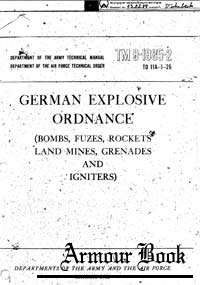 German Explosive Ordnance 1953. TM 9-1985-2