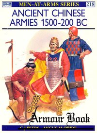 Ancient Chinese Armies 1500-200 BC [Osprey - Men-at-Arms 218]