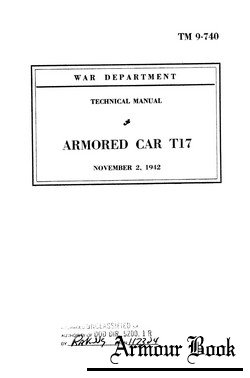 Armored car T17 [Technical manuals TM9-740]