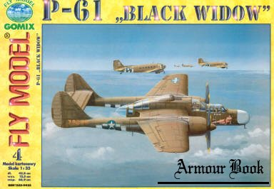 P-61 Black Window [Fly Model 004]