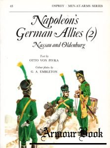 Napoleon's german Allies (2) - Nassau & Oldenburg [Osprey Men-at-Arms 043]
