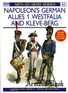 Napoleon's German Allies (1) Westfalia And Kleve-Berg [Osprey Men-at-Arms 044]