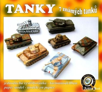 Tanky. 7 znamych tanku [Mini-Models Series]