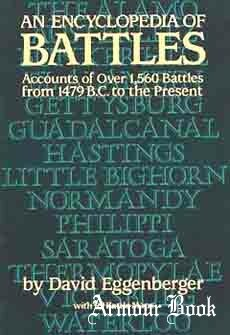 An Encyclopedia of Battles: Accounts of Over 1,560 Battles from 1479 b.c. to the Present