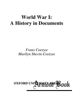 World War I: A History in Documents