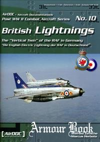 British Lightnings [Post WW2 Combat Aircraft Series 10]