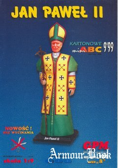 Statue of Pope John Paul II [GPM 939]