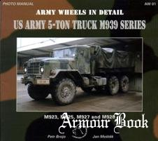 US Army 5-ton truck M939 series [Army Wheels in Detail 01]