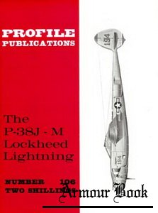 Lockheed P-38J/M Lightning  [Aircraft Profile 106]