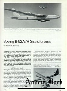 Boeing B-52A/H Stratofortress [Aircraft Profile 245]