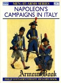Napoleon's Campaigns in Italy  [Osprey Men-at-arms 257]