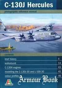 C-130J Hercules [Italeri photographic reference manual]
