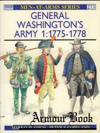 General Washington's Army (1) 1775-1778 [Osprey Men-at-arms 273]