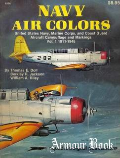 Navy Air Colors Vol.1: 1911-1945 [Squadron Signal 6156]