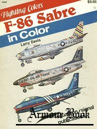 F-86 Sabre in Color [Squadron Signal 6502]