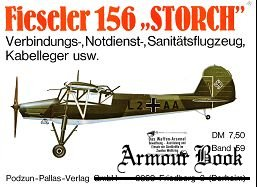"Fieseler 156 ""Storch"" [Waffen-Arsenal 059]"