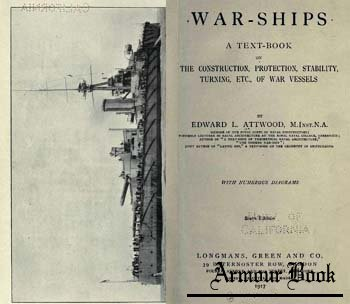 War-Ships [Longmans, Green & Co. 1917]