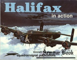 Halifax in action [Squadron signal 1066]
