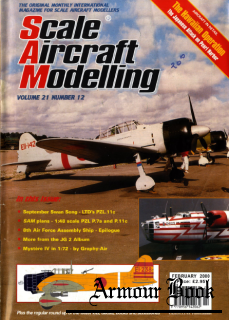 Scale Aircraft Modelling 2000-02 (Vol.21 No.12)