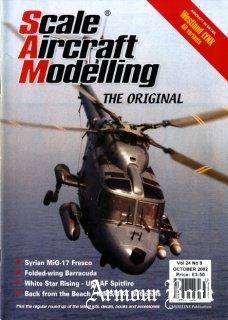 Scale Aircraft Modelling 2002-10 (Vol.24 No.08)