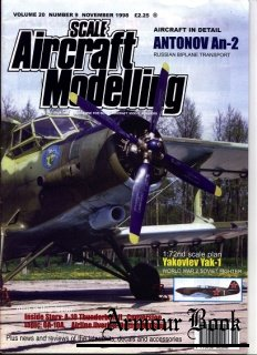 Scale Aircraft Modelling 1998-11 (Vol.20 No.09)