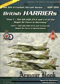 British Harriers (Part 1) [Post WWII Combat Aircraft Series 14]