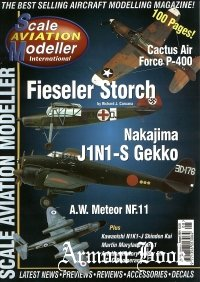 Scale Aviation Modeller International 2001-08 (Vol.07 Iss.08)