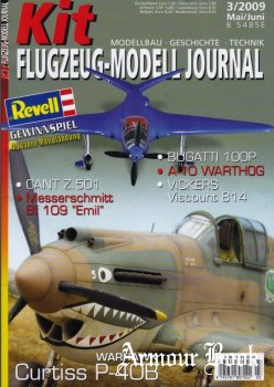 Kit Flugzeug-Modell Journal 2009-03