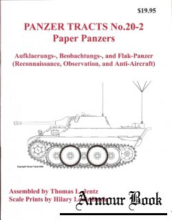 Paper Panzers [Panzer Tracts No. 20-2]