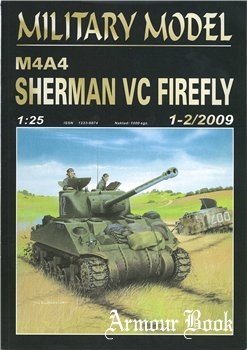 Sherman Vc Firefly M4A4 [Halinski Military Model 2009-01-02]