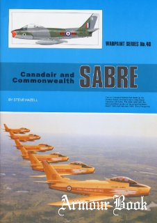 Canadair and Commonwealth Sabre [Warpaint Series №40]