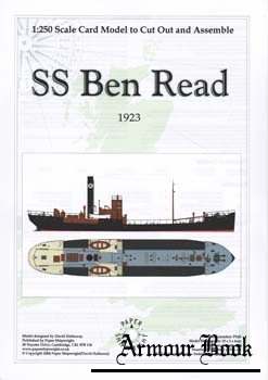 SS Ben Read [Paper Shipwright 026]