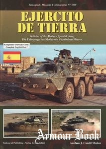 Ejercito de Tierra: Vechicles of the Modern Spanish Army [Tankograd 7019]