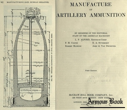 Manufacture of artillery ammunition