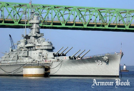 Battleship USS Massachusetts [Walk Around]