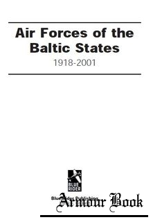 Air Forces of the Baltic States 1918-2000 [Blue Rider]