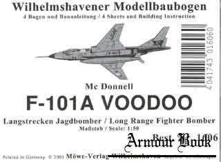 "Long Range Fighter Bomber F-101A ""Voodoo""[WHM 1606]"