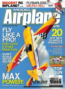 Model Airplane News 2011-06