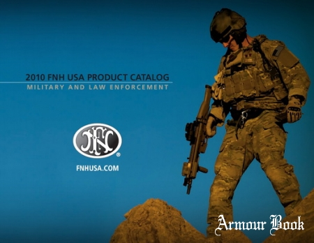 2010 FNH USA Product catalog military and law enforcement